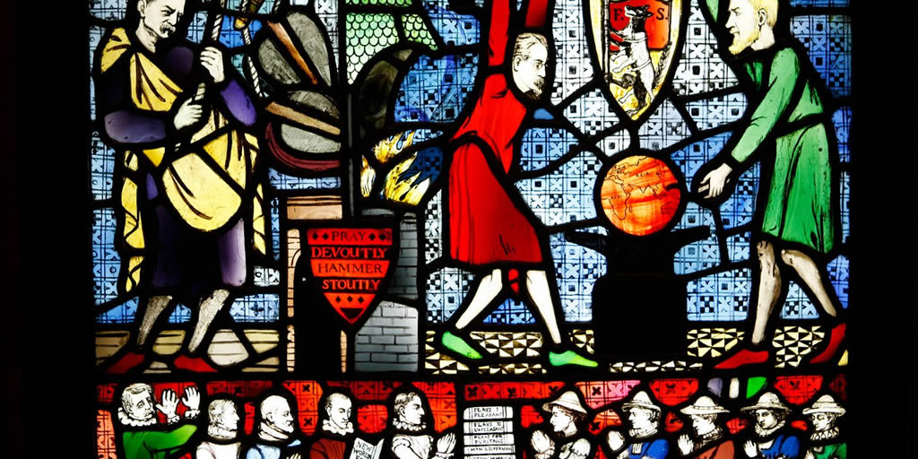 Photo: The Fabian Window.  Photo Credit: LSE