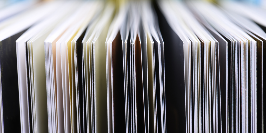 Closeup of book pages. Photo credit: FactoryTh, iStockPhoto, iStock-519476132.jpg