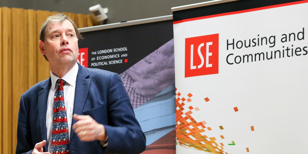 Professor John Hills chairs the LSE Festival: Beveridge 2.0 Lessons from Grenfell Tower: inequality and housing need, the Giant that still divides us. 23rd February 2018. © 2018 LSE/Maria Moore, all rights reserved