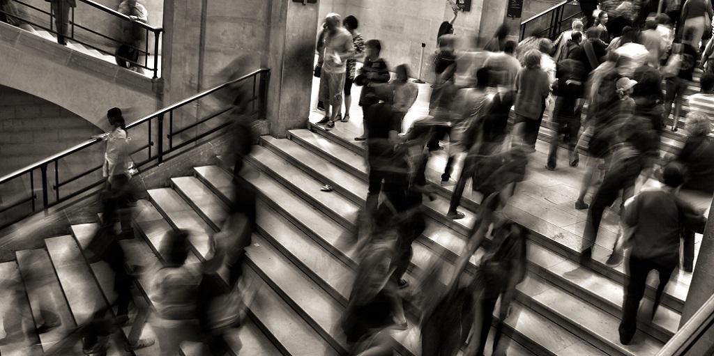 people on staircase in a station, source: jose-martin-ramirez-c-651-unsplash