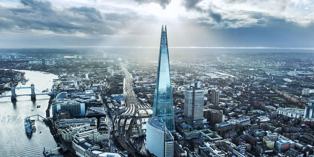 photograph of the Shard and the southbank of Thames