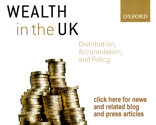 wealth in the uk book launch
