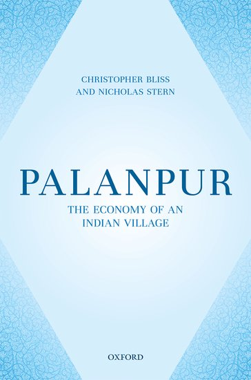 Bliss, Stern - Palanpur The Economy of an Indian Village